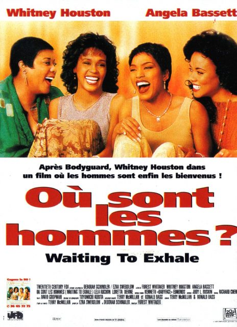 affiche poster où sont hommes Waiting Exhale disney fox