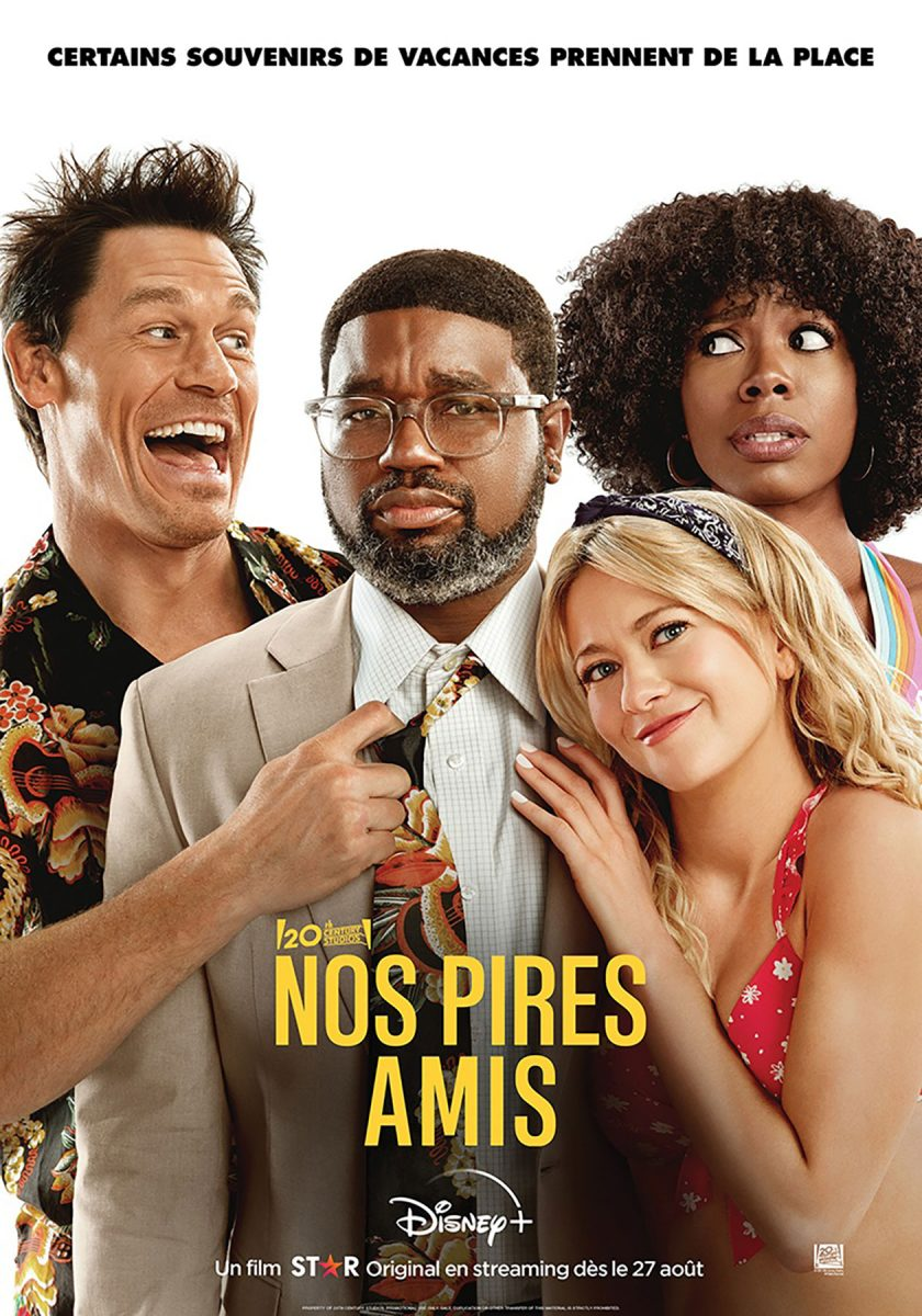 affiche poster pires amis Vacation Friends disney