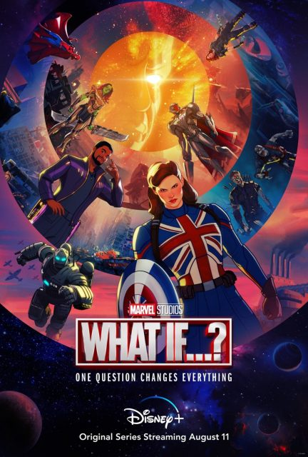 affiche poster what if disney marvel