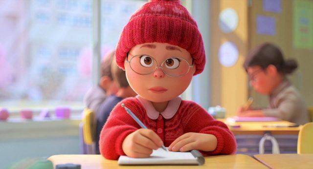 image turning red disney pixar