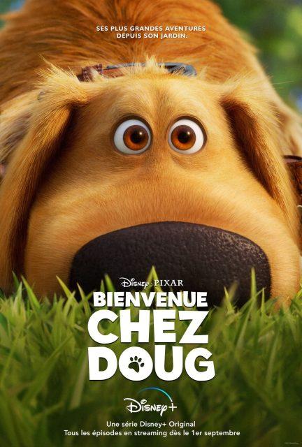 affiche poster bienvenue doug dug days disney pixar