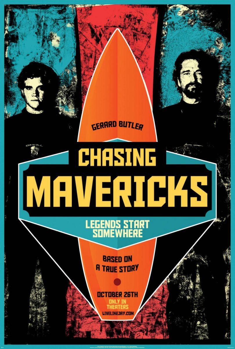 affiche poster chasing mavericks disney fox