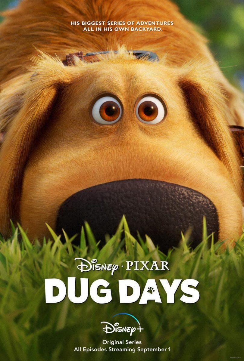 affiche poster dug days disney pixar