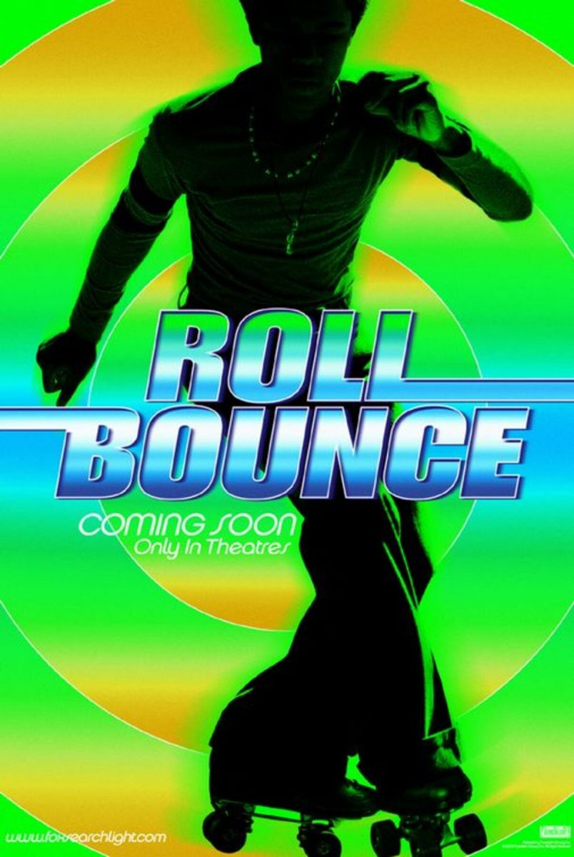 affiche poster fievre roller bounce disney fox