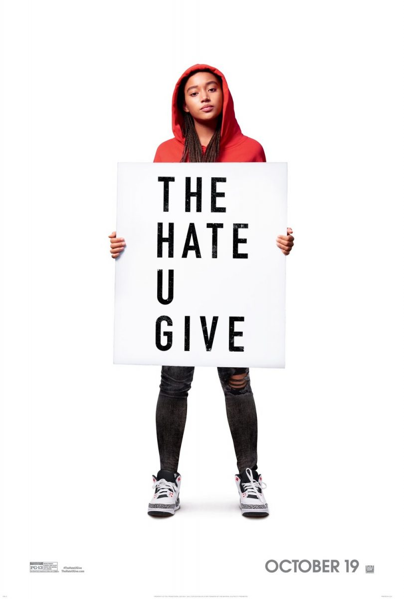affiche poster hate give haine donne disney fox