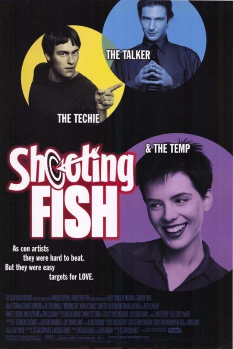 affiche poster shooting fish disney fox