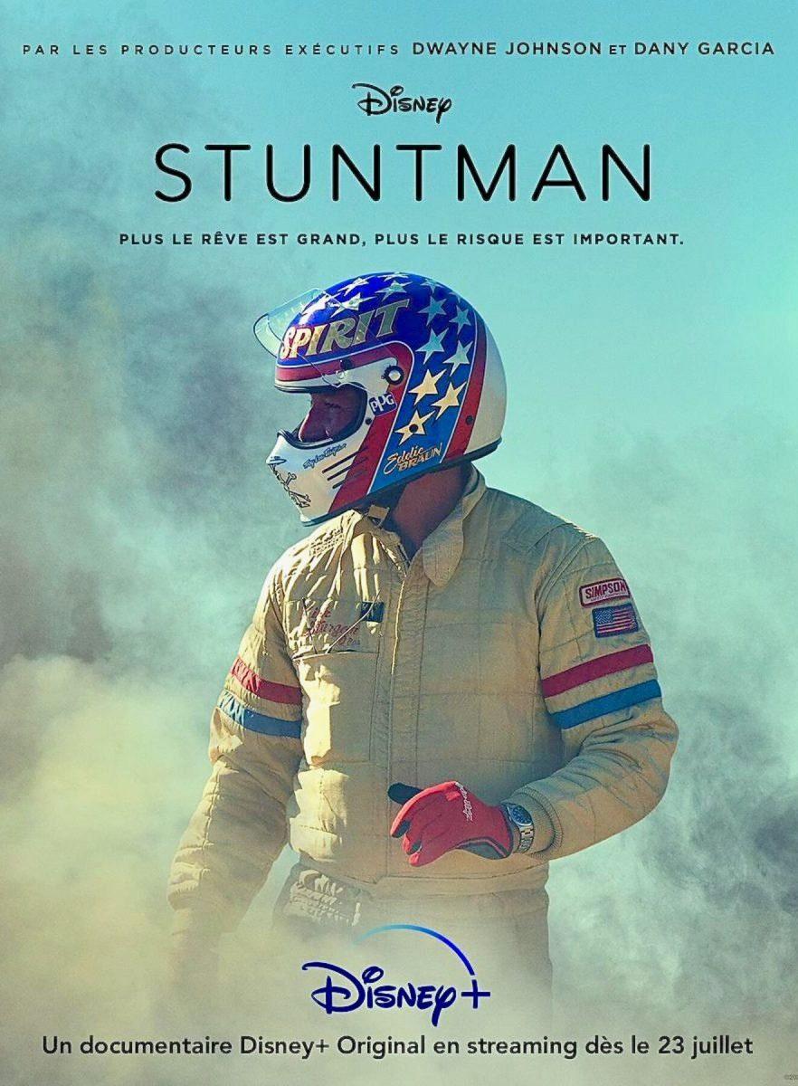 affiche poster stuntman disney