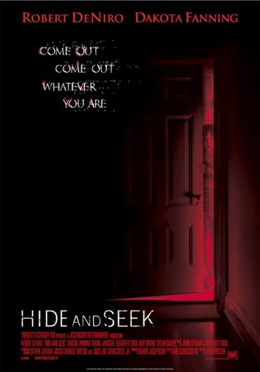 affiche poster trouble jeu hide seek disney fox