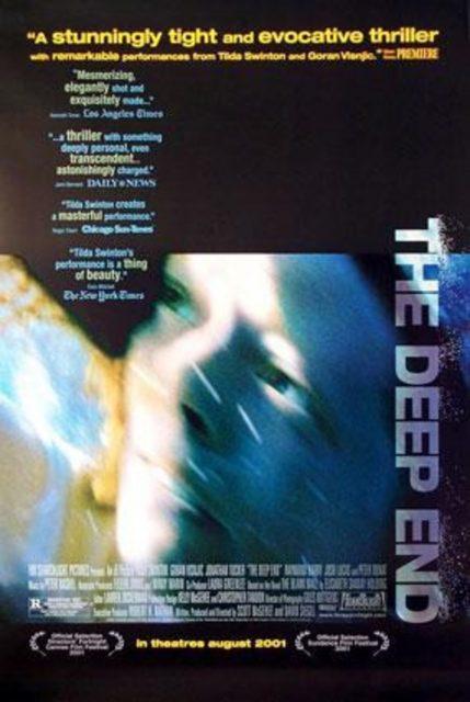 affiche poster bleu profond deep end disney
