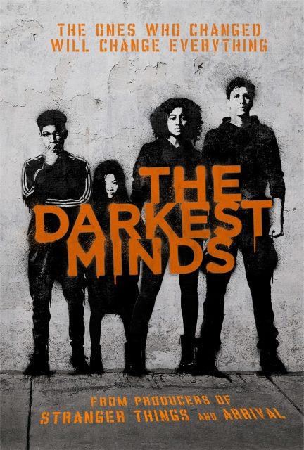 affiche poster darkest minds rebellion disney fox