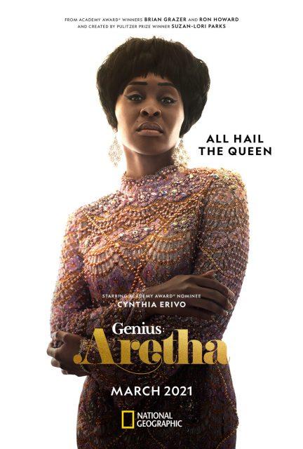 affiche poster genius aretha disney nat geo