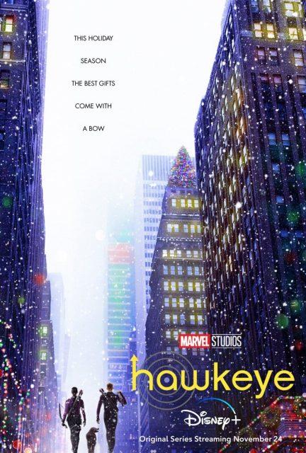 affiche poster hawkeye disney marvel