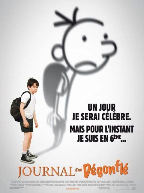 affiche poster journal dégonfle diary wimpy kid disney fox