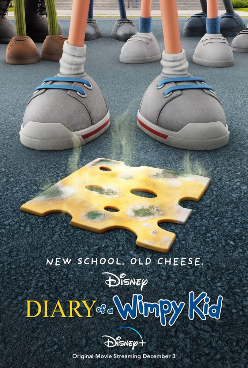 affiche poster journal 2021 dégonfle diary wimpy kid disney