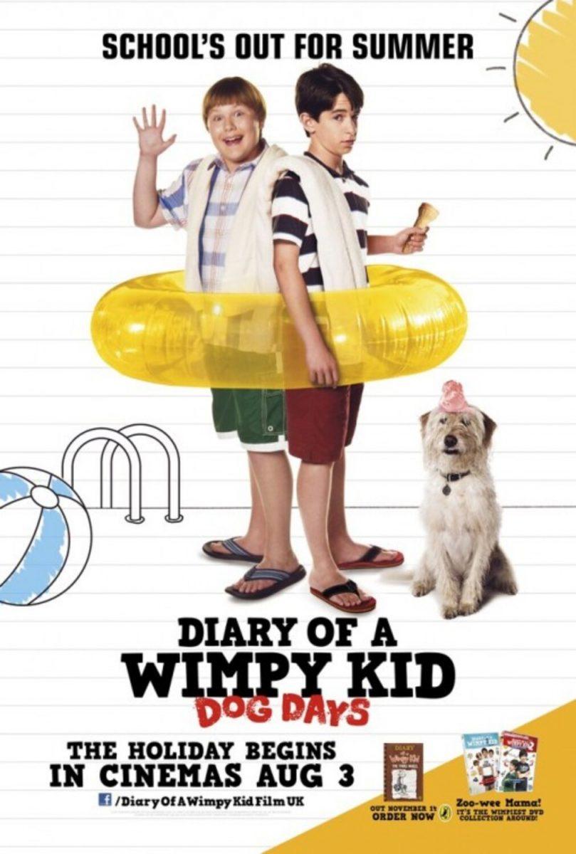 affiche poster journal degonfler suer diary wimpy kid dog days disney fox