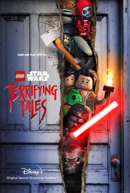affiche poster lego star wars histoire terrifiante terrifying tales