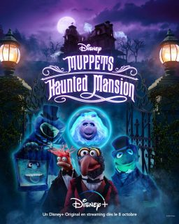 affiche poster muppets haunted mansion disney
