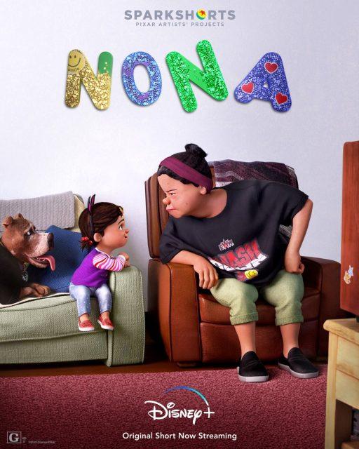 affiche poster nona disney pixar