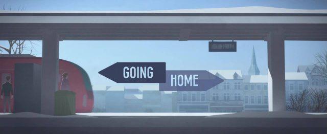 affiche poster retour going home disney