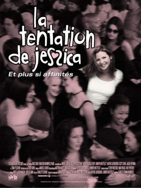 affiche poster tentation jessica kissing stein disney