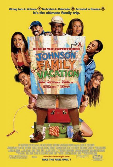 affiche poster vacances famille johnson journey family