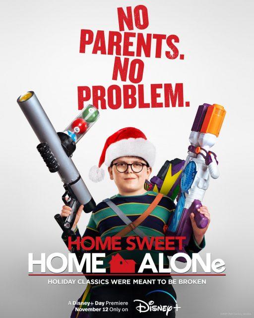 affiche poster maman raté avion home sweet alone 2021