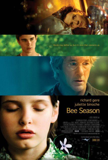 affiche poster mots retrouves bee season