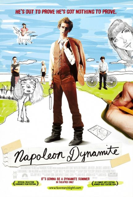 affiche poster napoleon dynamite